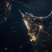 iss049e007067 Dubai & Abu Dhabi at Night by NASA Johnson