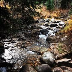 A river runs through #Beavercreek #Colorado #hiking