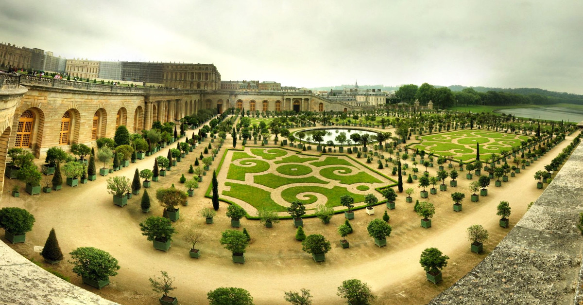 Orangerie at Versailles. Credit Panoramas