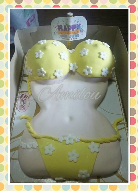 Sexy / Bikini Inspired Cake by Amilou L Ramos