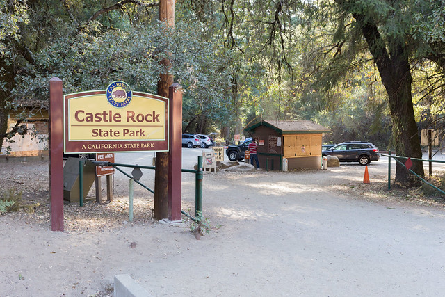 Castle Rock State Park Entrance