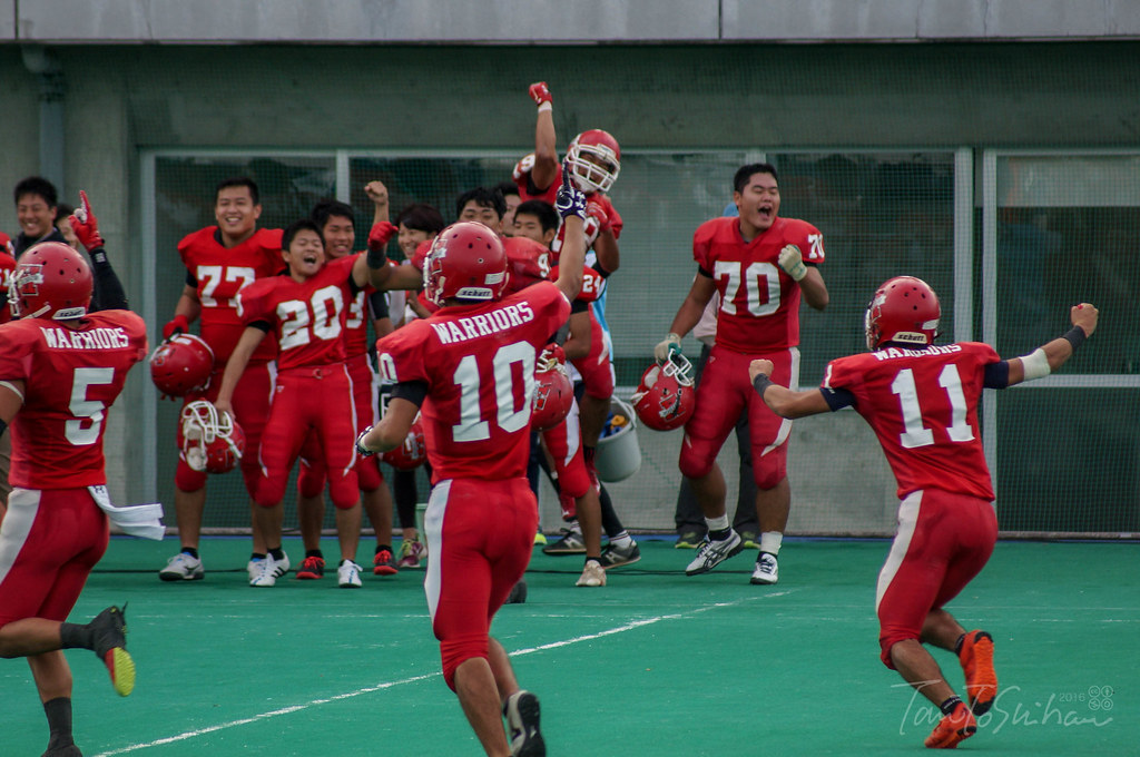 中四国学生アメリカンフットボールリーグ2016 決勝トーナメント優勝決定戦 島根大ー広島大