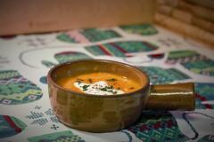Butternut Carrot Ginger Soup