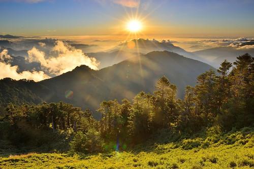 Sunset, Mountain Hehuan合歡山