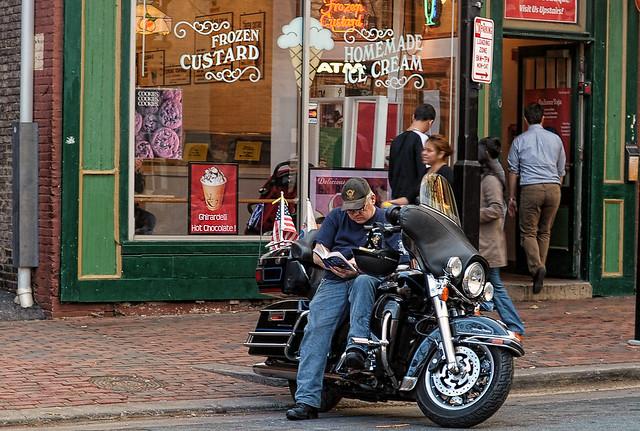 Old Town biker