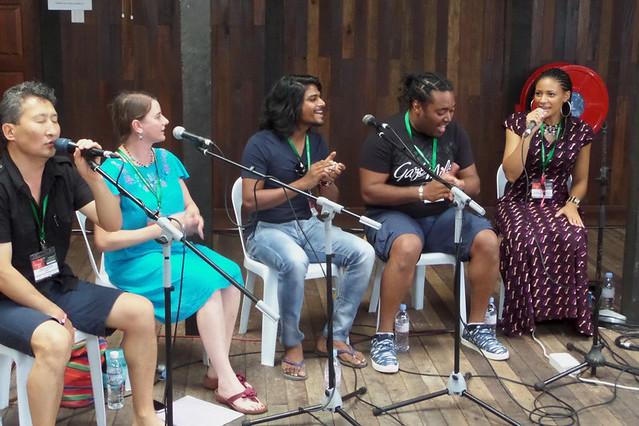 Rainforest World Music Festival 2015-Workshop-Vocals