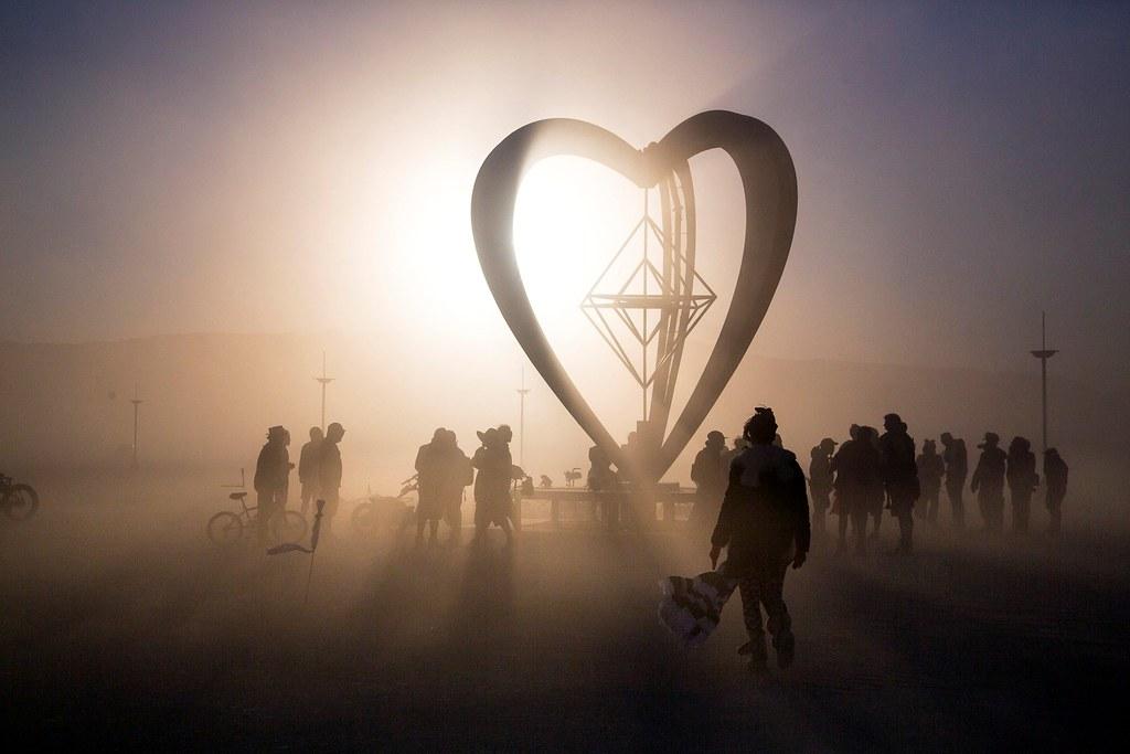 Dusty Art at Burning Man