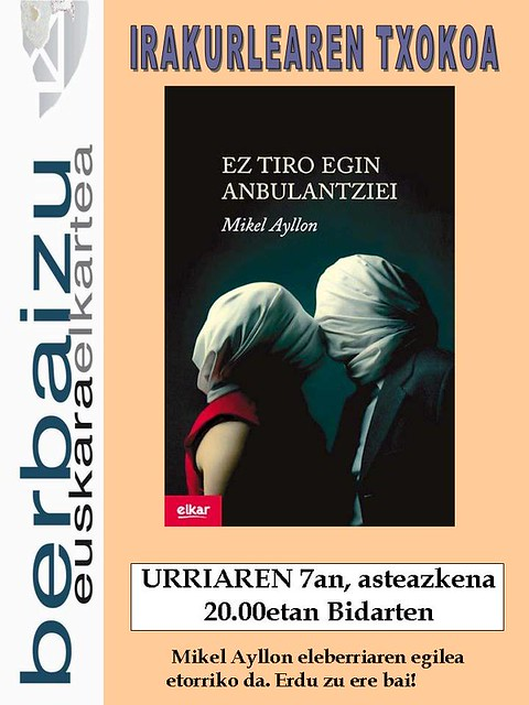 'Ez egin tiro anbulantziei' Irakurleen Txokoan