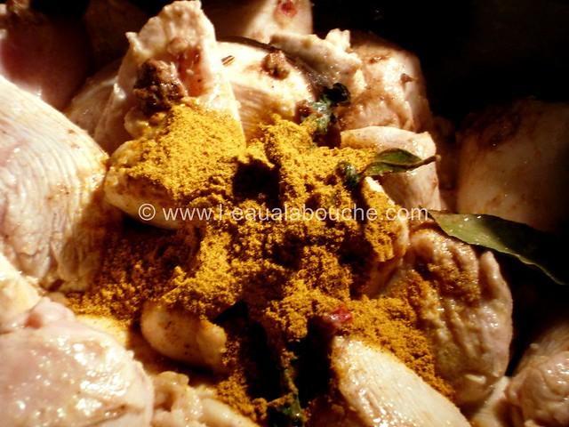 Colombo de Poulet aux Pois Chiches © Ana Luthi Tous droits réservés 12