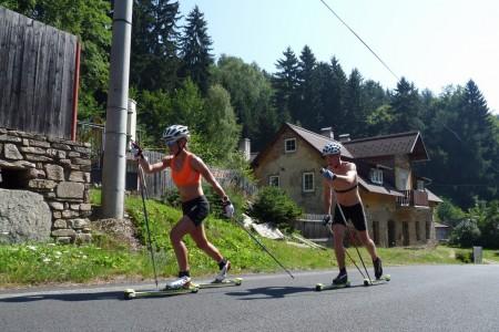 Petra Nováková běhá skvěle i bez lyží, stala se mistryní republiky v běhu do vrchu