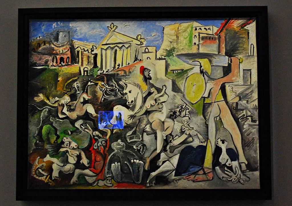 10 - Centre Pompidou-Metz Leiris & Co. Pablo Picasso, L'Enlèvement des Sabines, Huile sur toile, Novembre 1962
