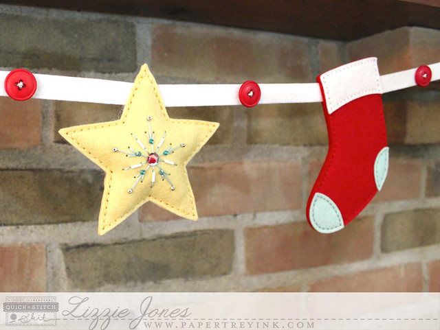 Beaded Star and Stocking