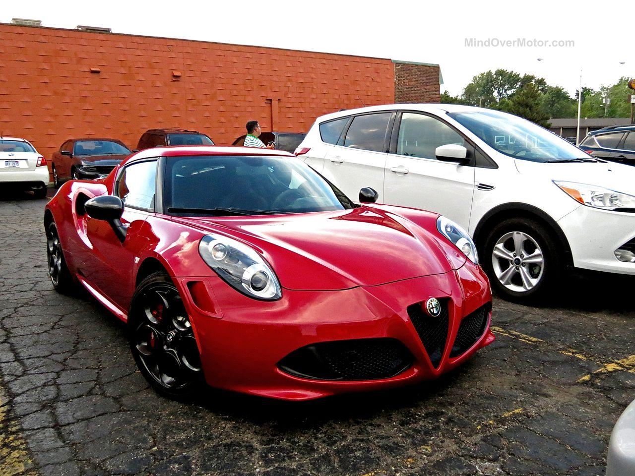 Alfa Romeo 4C Woodward Ave 1