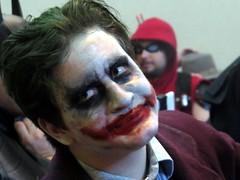The Joker from the Dark Knight at Gen Con.