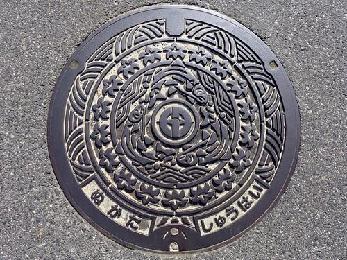 Nukata Aichi, manhole cover 2 (愛知県額田町のマンホール2)