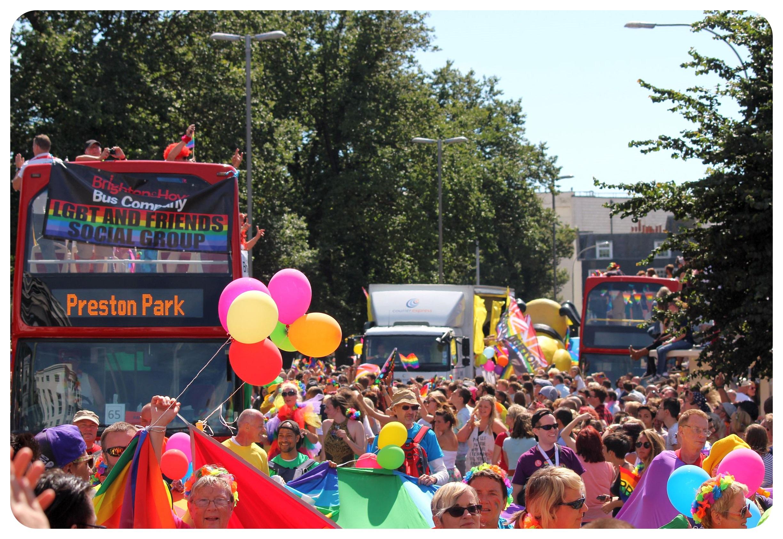 brighton pride parade 2015