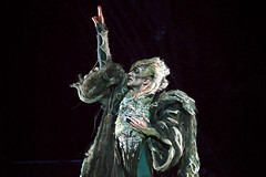 Gary Avis as Von Rothbart in Swan Lake, The Royal Ballet