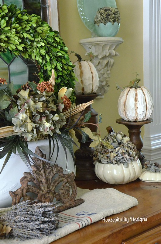 French Buffet Vignette - Housepitality Designs