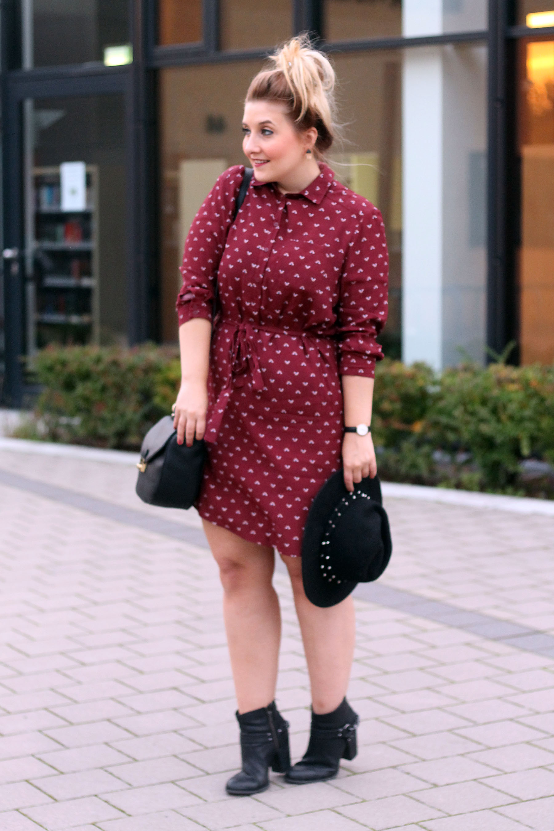 outfit-newlook-style-look-beliebte-modeblogs-deutschland-kleid-herbst-rot-stiefeletten-tasche-chloe-lookalike