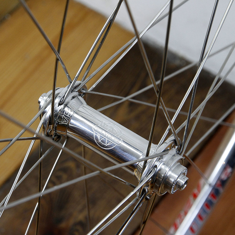 Velocity A23 Rim × White Industries T11 Hub