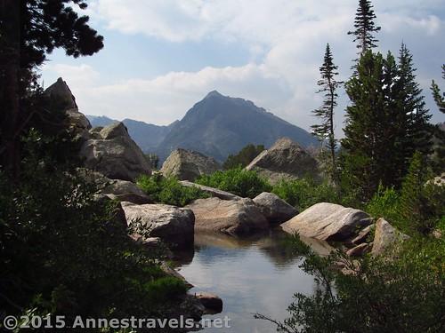 Crossing North Creek, Jackass Pass, Wind River Range, Wyoming