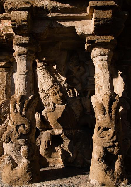 Stone Brahma - Kailasanathar