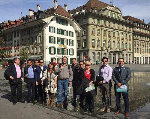 Periodistas mexicanos visitan Suiza