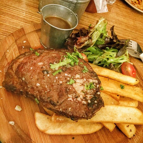 Steak 'N' Chips #kravecafe #halalsg #sghalal