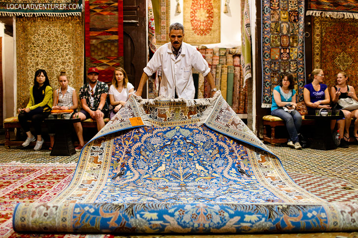 Shop for Moroccan Carpets (21 Amazing Things to Do in Fes Morocco).
