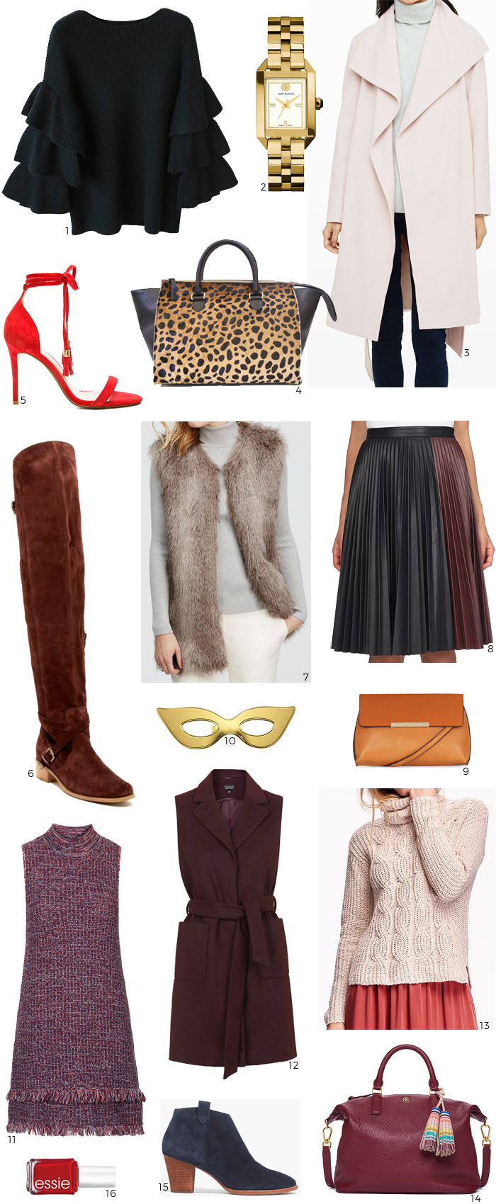 wishlist october 2015