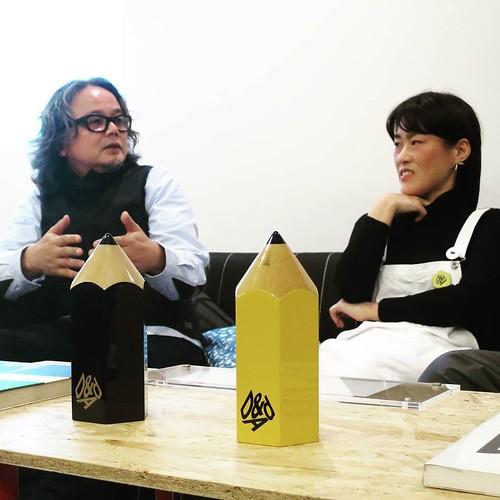 D&ADのサムライ審査員、福田敏也さんも加わって。