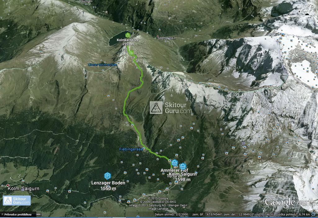 Kolmkarspitze Goldberggruppe - Hohe Tauern Rakousko foto 01