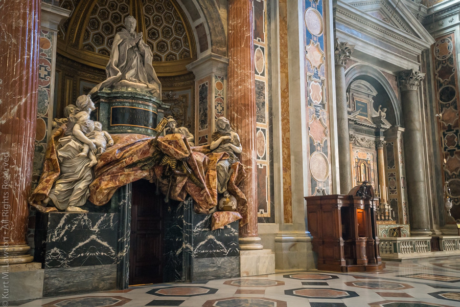 The Gate Of Death Inside Saint Peter S Basilica At The