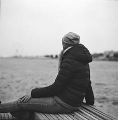 a contemplare il mare