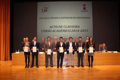 Graduación 2014-2015 ETS de Ingeniería