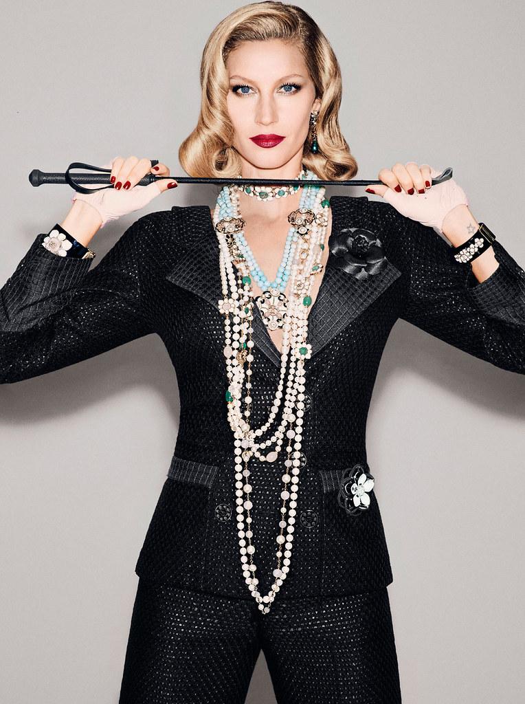 Жизель Бюндхен — Фотосессия для «Vogue» BR 2015 – 1