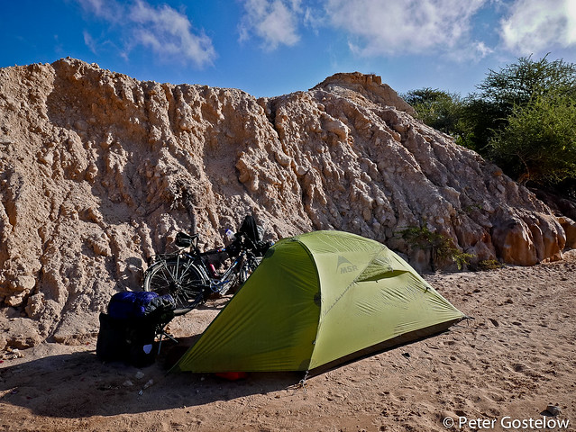 Wild camping in Somaliland