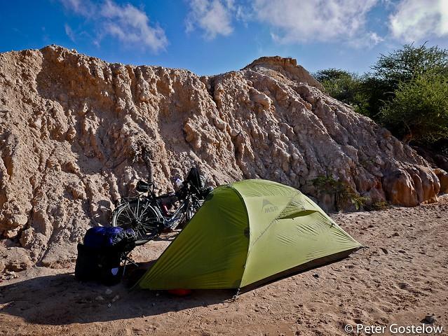 Wild camping in Somaliland