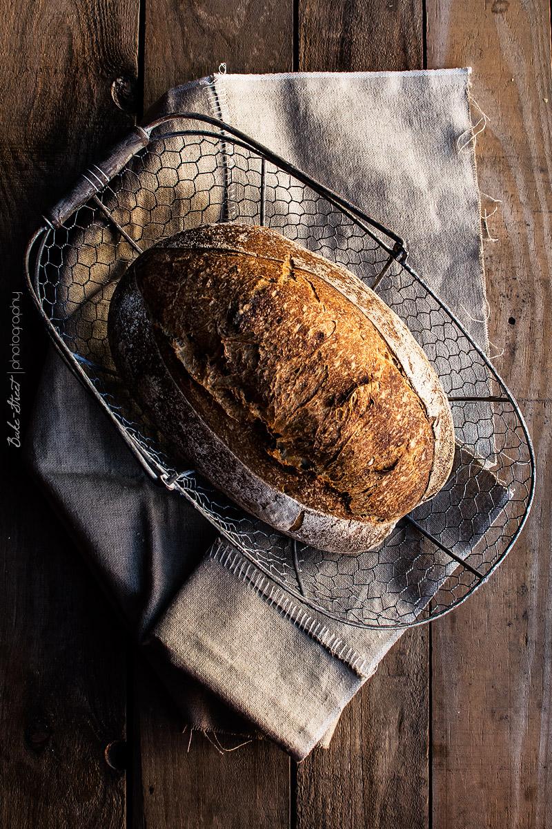 Pan de dos trigos