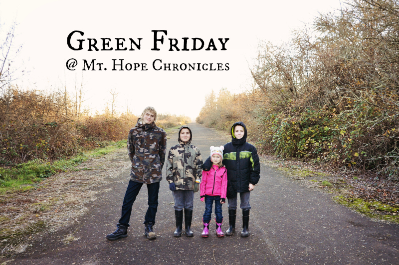 Green Friday @ Mt. Hope Chronicles