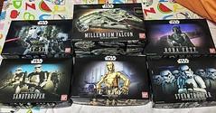 The force awakens #missingr2d2r4d5 #missingdarthvader #starwars #modelkit