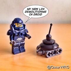 #LEGO_Galaxy_Patrol #LEGO #LIN #Demolitionmech #Droid #LINV8K #V8K #LEGOstarWars #StarWars #Tatooine @starwars @lego_group @lego @bricknetwork @brickcentral