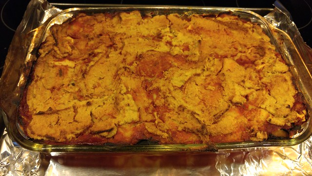 Forks Over Knives Sweet Potato Lasagna