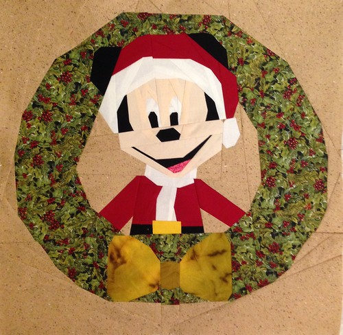 Merry Christmas Mickey Mouse in 20x20 for FIS Christmas 2015