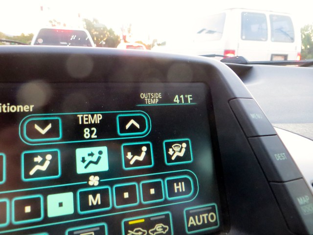 brrrr -- 41 degrees in malibu