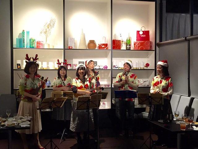 【ボランティア演奏会】日本姿勢と歩き方協会クリスマスパーティー2015.12.13_11