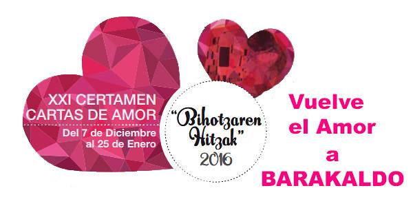 Bihotzaren Hitzak XXI, Certamen Cartas de Amor de Barakaldo