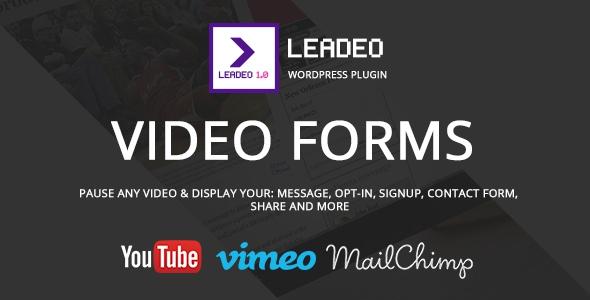 Codecanyon Leadeo v1.5.1 – WordPress Plugin for Video Marketing