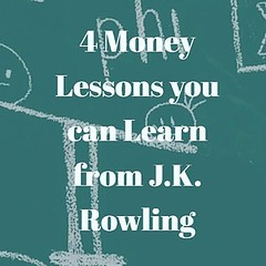 4 Money Lessons We Can Learn From J.K. Rowling - http://buff.ly/2dWAREd Lessons 3 and 4 Speak to me. DM me or visit buff.ly/2dWBnlv