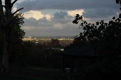 A little bit of evening sun catching Edmonton and Tottenham